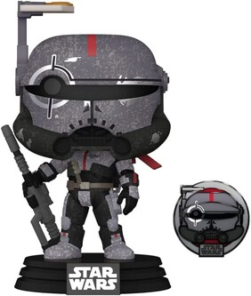 Star Wars: Across the Galaxy - Crosshair US Exclusive Pop! Vinyl with Pin [RS]