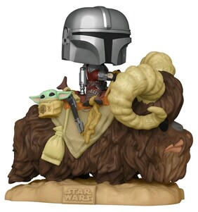 Star Wars: The Mandalorian - Mandalorian and the Child on Bantha Pop! Deluxe