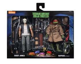"""Teenage Mutant Ninja Turtles - Casey Jones & Raphael 7"""" Action Figure 2-Pack"""