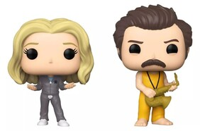 Parks and Recreation - Locked In Ron & Leslie Pop! Vinyl 2-Pack [RS]