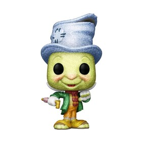 Pinocchio - Street Jiminy Diamond Glitter US Exclusive Pop! Vinyl