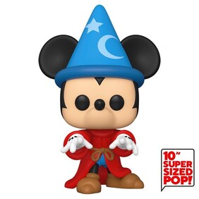 "Fantasia - Sorcerer Mickey 10"" US Exclusive Pop! Vinyl"