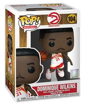 NBA: Legends - Dominique Wilkins Hawks Home Pop! Vinyl