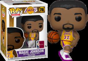 NBA Legends - Magic Johnson (Lakers Home) Pop! Vinyl