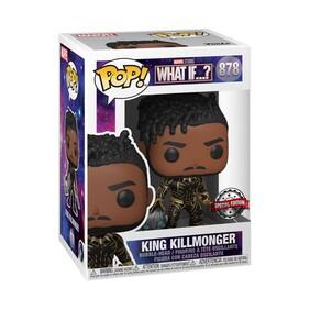 What If - King Killmonger Pop! Vinyl [RS]