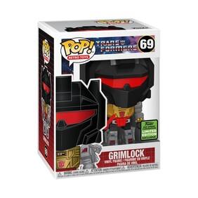 Transformers - Grimlock Metallic ECCC 2021 US Exclusive Pop! Vinyl