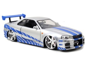 Fast and Furious - '02 Nissan Skyline GT-R 1:24 Scale Hollywood Ride