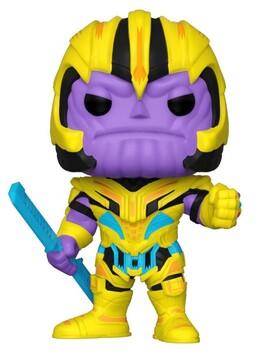 Marvel - Thanos Blacklight US Exclusive Pop! Vinyl [RS]