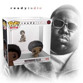 Notorious B.I.G. - Ready To Die Pop! Album with Case