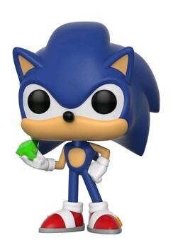 Sonic the Hedgehog - Sonic with Emerald Pop! Vinyl