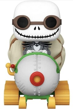 The Nightmare Before Christmas - Jack with Goggles & Snowmobile Pop! Ride