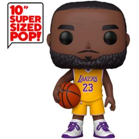 "NBA: Lakers - LeBron James Yellow Jersey US Exclusive 10"" Pop! Vinyl"