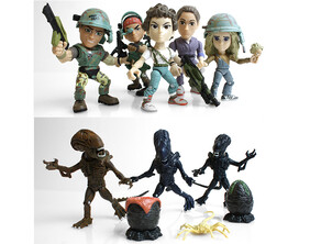"""THE LOYAL SUBJECT - Aliens 3"""" Articulated Action Vinyls"""