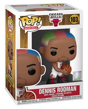 NBA: Legends - Dennis Rodman (Bulls Home) Pop! Vinyl