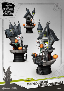 Beast Kingdom D Stage The Nightmare Before Christmas