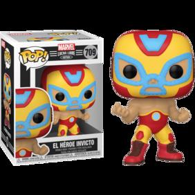 Iron Man - Luchadore Iron Man Pop! Vinyl