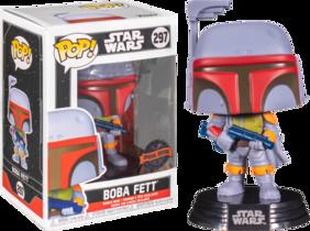 Star Wars - Boba Fett Vintage US Exclusive Pop! Vinyl [RS]