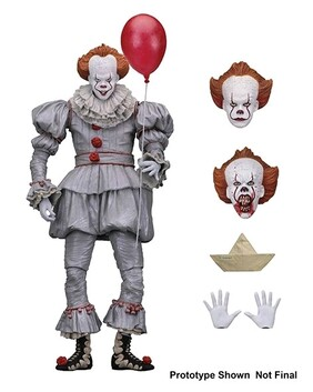 """It (2017) - Pennywise Ultimate 7"""" Action Figure"""