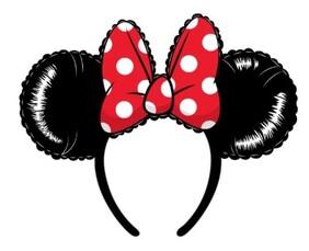 Mickey Mouse - Balloon Ears with Bow Headband
