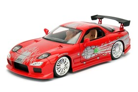 Fast & Furious - 1993 Mazda RX-7 1:24 Scale Hollywood Ride