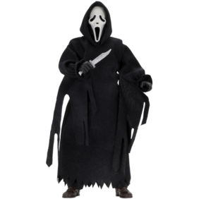 """Scream - Ghostface 8"""" Clothed Action Figure"""