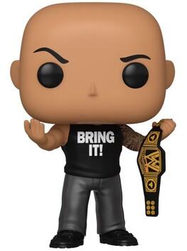 WWE - The Rock w/Championship Belt Metallic US Exclusive Pop! Vinyl [RS]