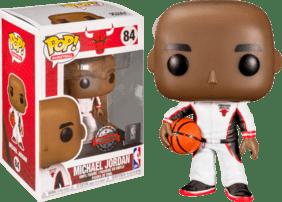 NBA - Michael Jordan (Bulls White Warm up) US Exclusive Pop! Vinyl