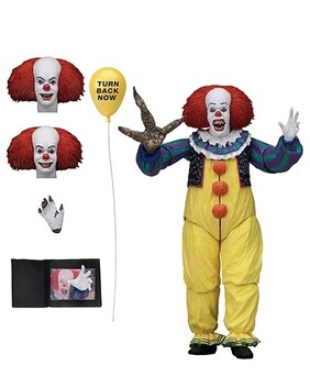 """It - Pennywise Ultimate Version 2 7"""" Action Figure"""