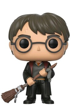 Harry Potter - Harry with Firebolt US Exclusive Pop!