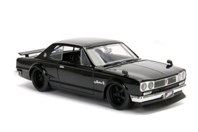 Fast and Furious - Nissan Skyline 2000 GT-R 1:24 Scale Hollywood Ride