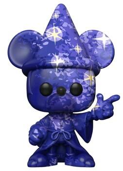 Fantasia - Sorcerer Mickey (Artist) #1 Pop! Vinyl with Protector