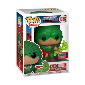 Masters of the Universe - King Hiss NYCC 2020 US Exclusive Pop! Vinyl