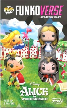 Funkoverse - Alice in Wonderland 2-pack Expandalone Game