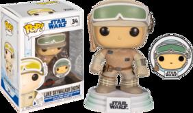 Star Wars: Across the Galaxy - Luke Skywalker Hoth US Exclusive Pop! Vinyl with Pin