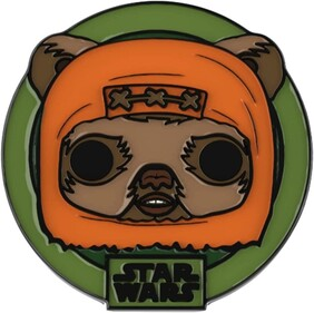 Star Wars: Across the Galaxy - Wicket US Exclusive Pop! Vinyl with Pin [RS]