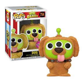 Pixar - Alien Remix Dug Flocked US Exclusive Pop! Vinyl