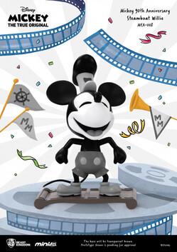 Mini Egg Attack Mickey 90th Anniversary Steamboat Willie