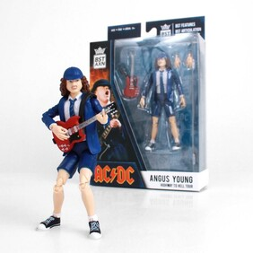 """AC/DC Angus Young BST AXN 5"""" Action Figure"""