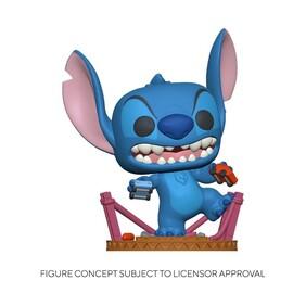 Lilo & Stitch - Godzilla Stitch US Exclusive Pop! Vinyl [RS]