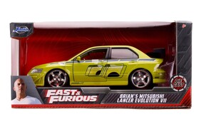 Fast & Furious - Brian's 2002 Mitsubishi Lancer Evolution VII 1:24 Scale Hollywood Ride