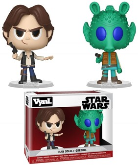 Star Wars - Han Solo & Greedo Vynl.