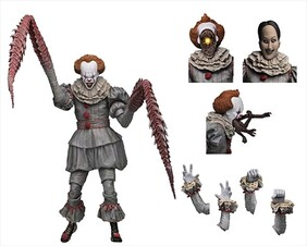 """It (2017) - Pennywise Dancing Clown 7"""" Action Figure"""