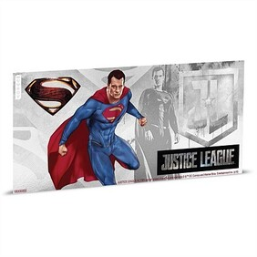 Justice League Series - Superman™ 5g Silver Coin Note