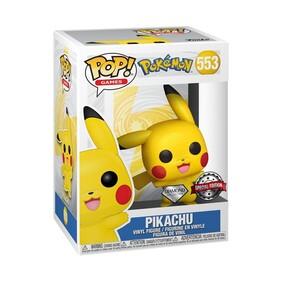 Pokemon - Pikachu Waving Diamond Glitter US Exclusive Pop! Vinyl