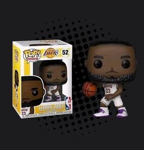 NBA: Lakers - Lebron James (White Uniform) Pop! Vinyl