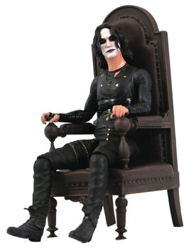 The Crow - Crow in Chair SDCC 2021 US Exclusive Deluxe Figure