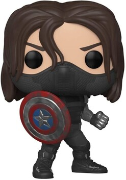Captain America - Winter Soldier Year of the Shield US Exclusive Pop! Vinyl [RS]