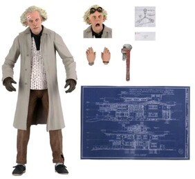 """Back to the Future - Doc Brown Ultimate 7"""" Action Figure"""
