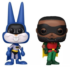 Space Jam 2: A New Legacy - Bugs Bunny as Batman & LeBron James as Robin US Exc Pop! 2-Pack [RS]