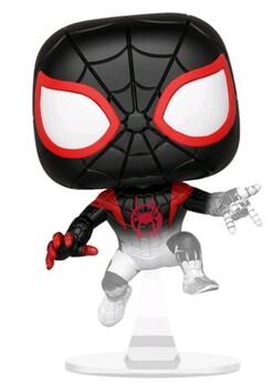 SpiderMan: Into the Spider-Verse - Spider-Man Miles Translucent US Exclusive Pop! Vinyl